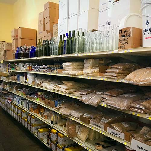 Homebrewing supplies in Kalispell